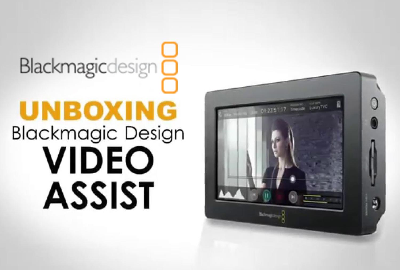 Blackmagic Video Assist 導入