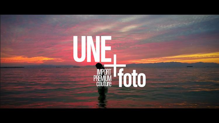 UNE-foto ブランド・コンセプトムービー
