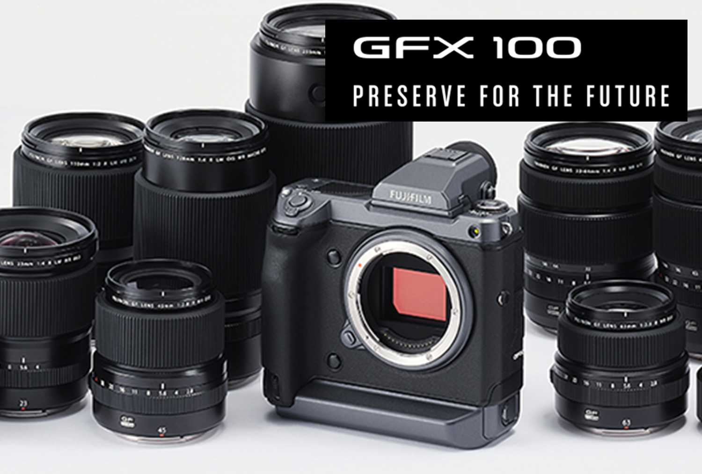 「一億画素超」ミラーレスカメラGFX100導入